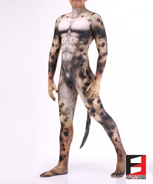 Dog Husky V1 Men PETSUIT D001M