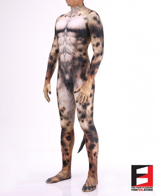 Dog Husky Men PETSUIT D001M