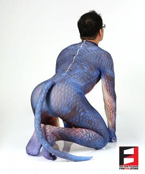 Dragon PETSUIT DG001-BLUE