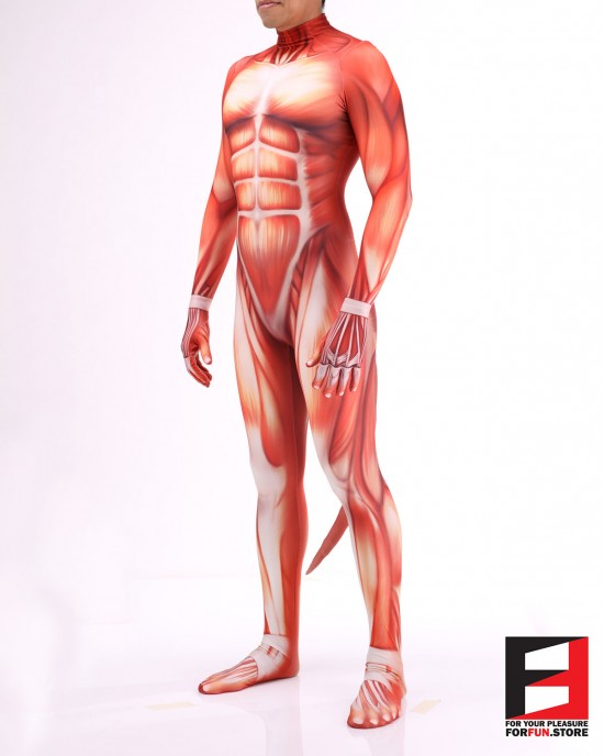 Pet Muscle Men PETSUIT M001M