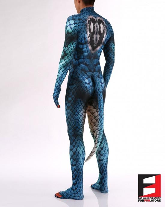 Snake Blue Men PETSUIT S001M-BLUE