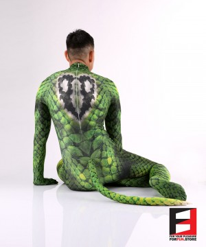 Snake Green Men PETSUIT S001M-GREEN
