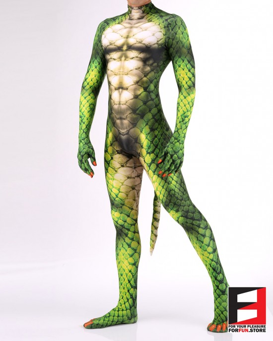Snake Green PETSUIT S001M-GREEN