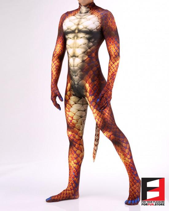 Snake Orange PETSUIT S001M-ORANGE