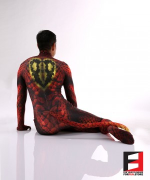 Snake Red PETSUIT S001-RED
