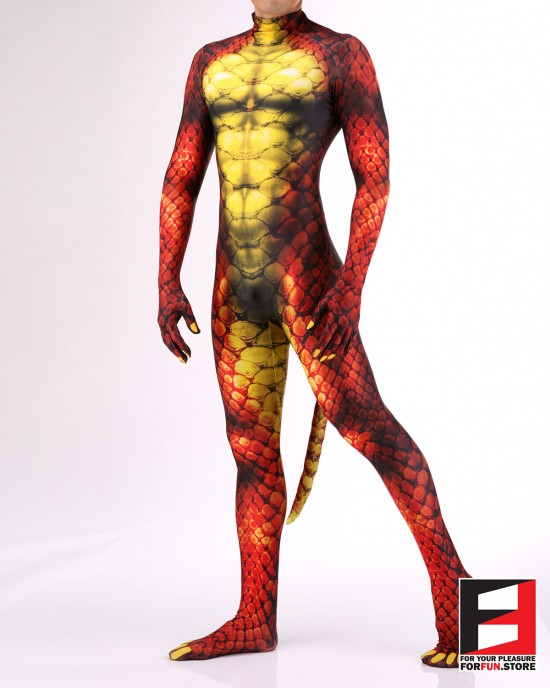 Snake Red PETSUIT S001M-RED