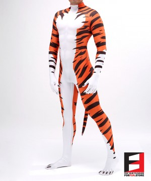 Tiger Cartoon PETSUIT T003-V4