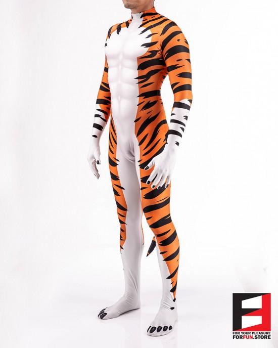 Tiger Cartoon Men PETSUIT T003M
