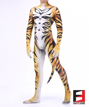 Tiger Immortal Furry Men PETSUIT T004M