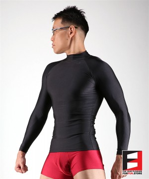 SPANDEX SHIRTS BLACK SHA