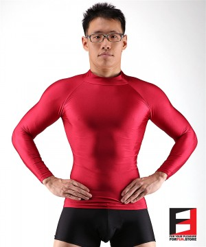 SPANDEX SHIRTS RED SHA