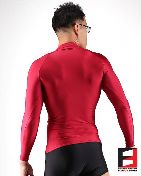 SPANDEX SHIRTS RED SHA