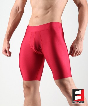 SPANDEX SHORTS RED LGC