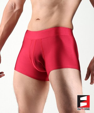 SPANDEX BOXERS RED LGD