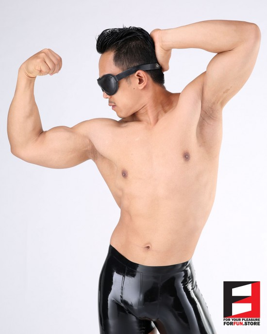 LEATHER BASIC BLINDFOLD BF001