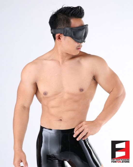 LEATHER PREMIUM BLINDFOLD BF002