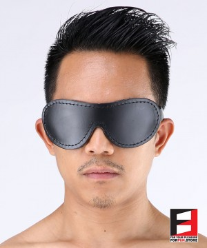 LEATHER PRO BLINDFOLD BF003