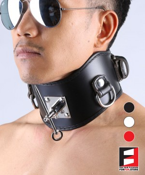 LEATHER POSTURE COLLAR WITH PIN CL011
