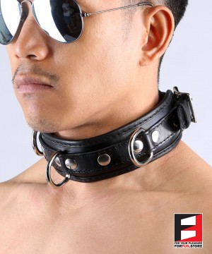 LEATHER BASIC COLLAR CL001
