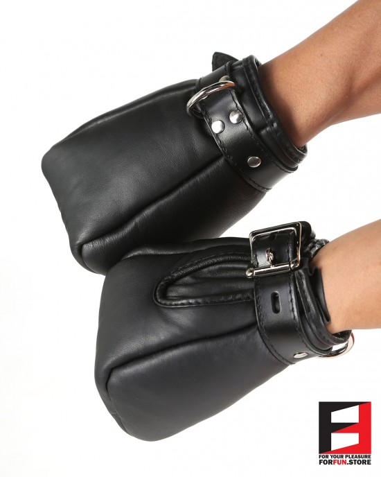 LEATHER MITTS BASIC