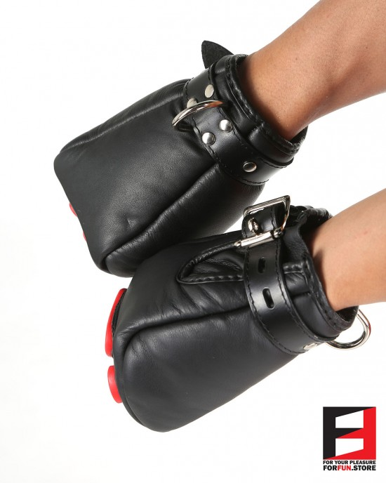 LEATHER PAW MITTS BASIC