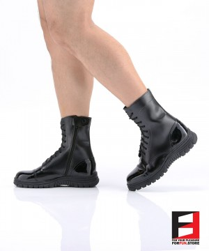 LEATHER COMBAT BOOTS TYPE B