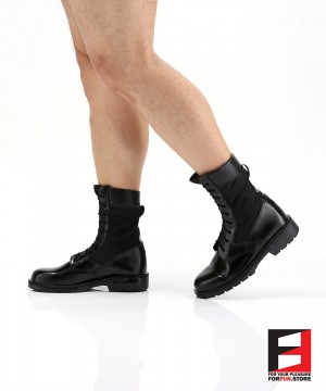LEATHER COMBAT BOOTS TYPE K