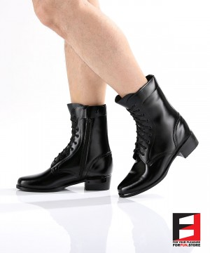 LEATHER COMBAT BOOTS TYPE S