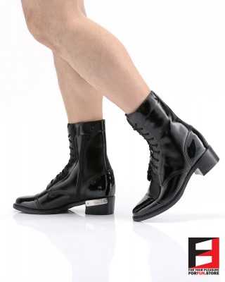 LEATHER COMBAT BOOTS TYPE T