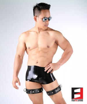 LEATHER BASIC THIGH RESTRAINTS TH001