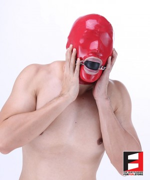 50MM PREMIUM SILICONE BALL GAG WITH CHAIN GG002L