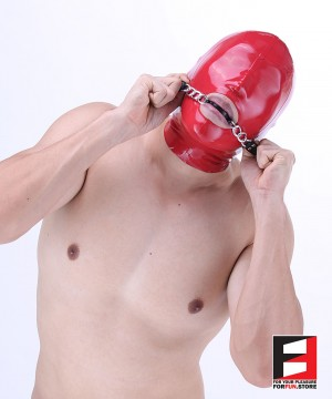 35MM PREMIUM SILICONE BALL GAG WITH CHAIN GG002S