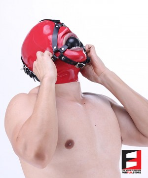 HARNESS 50MM SILICONE BALL GAG GH001L