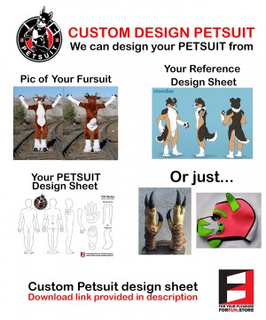 Custom Design PETSUIT