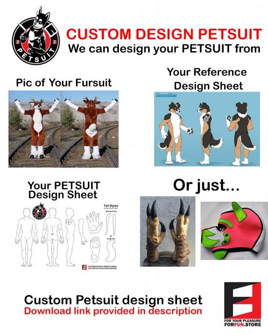 CUSTOM DESIGN PETSUIT
